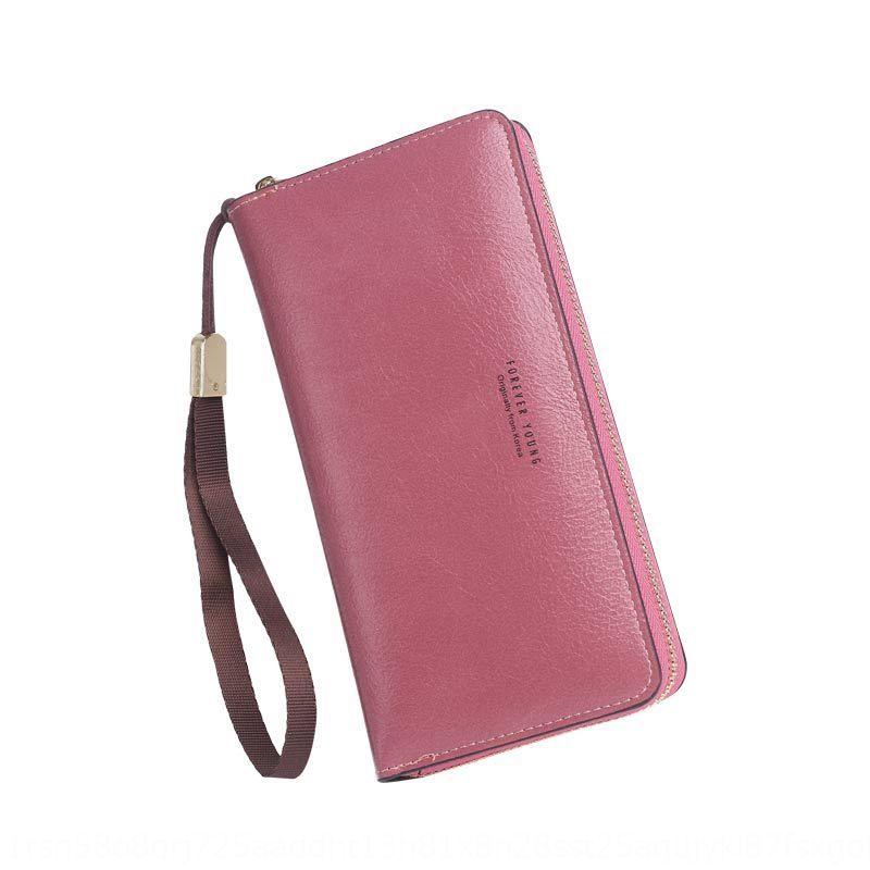 6xHxS 2020 лето новый браслет рука моды мультикардридер сумочка ремешок на запястье мобильный телефон женский кошелек большой емкости мобильного телефона молния