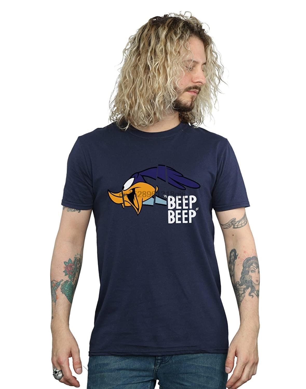 Looney Tunes Uomo Road Runner Beep Beep T-shirt