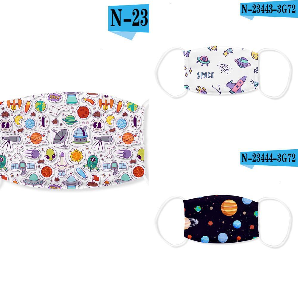 Lg37 New Planet spazio Ice stampato 2020 Seta filtro maschera e alla polvere MPYP