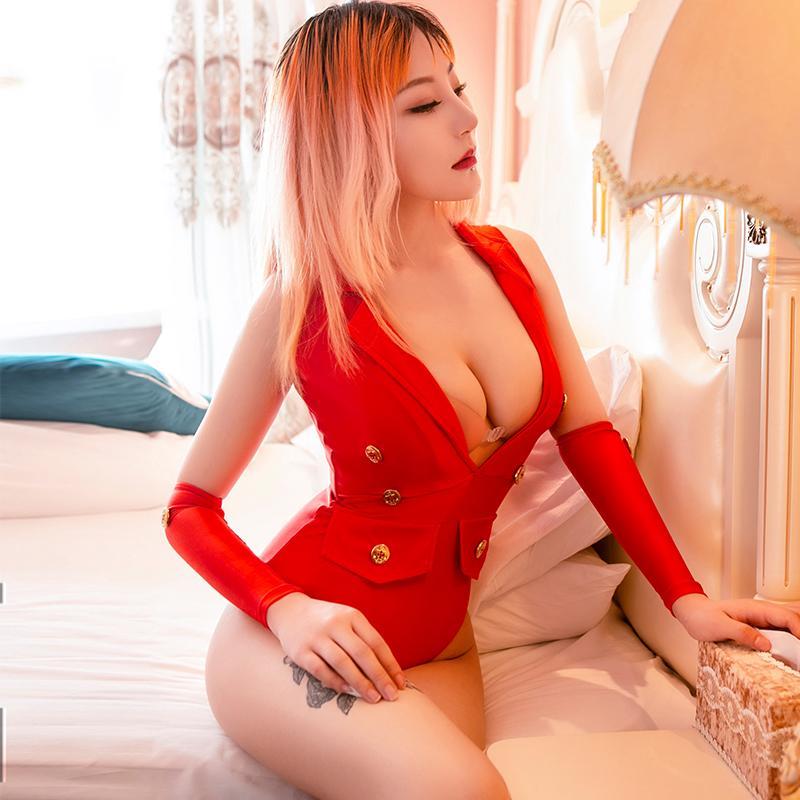 С прозрачных женщинами Sexy Ночного Pole Dance Tight Bodysuits High Clasticity Женского Adult Sex Game Deep V Играть Блестящую игровую одежду
