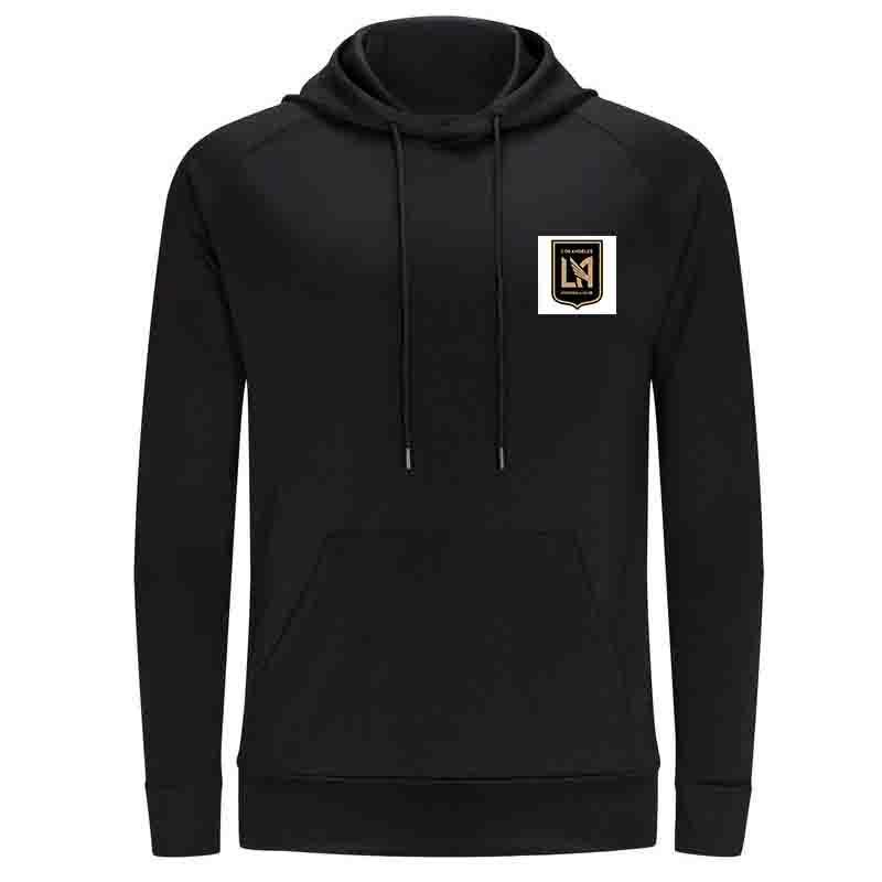 Лос-Анджелес F.C Men Hoodie свитер Super Soft Printed куртка футбол Fleeces Открытый зимний теплый Весте вскользь Женщины Платья