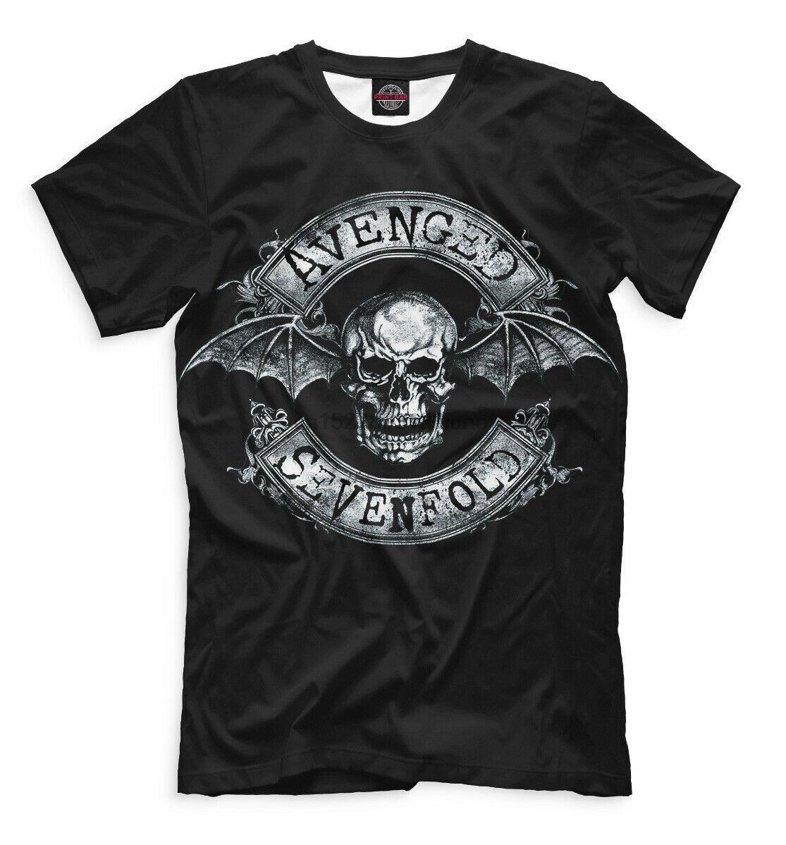 Avenged Sevenfold A7X camiseta - grupo de metales pesados Sombras Vengeance Synyster