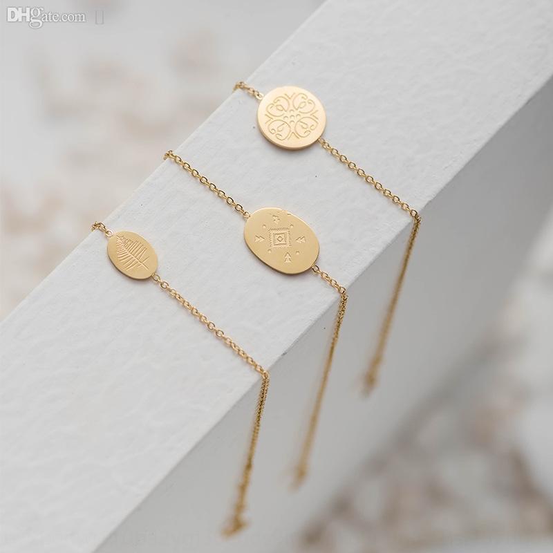 CDR5K núcleo elegante joyería de 2020 nueva manera simple Oro Braceletstainless pulsera de acero de alta calidad pulsera de oro genuino