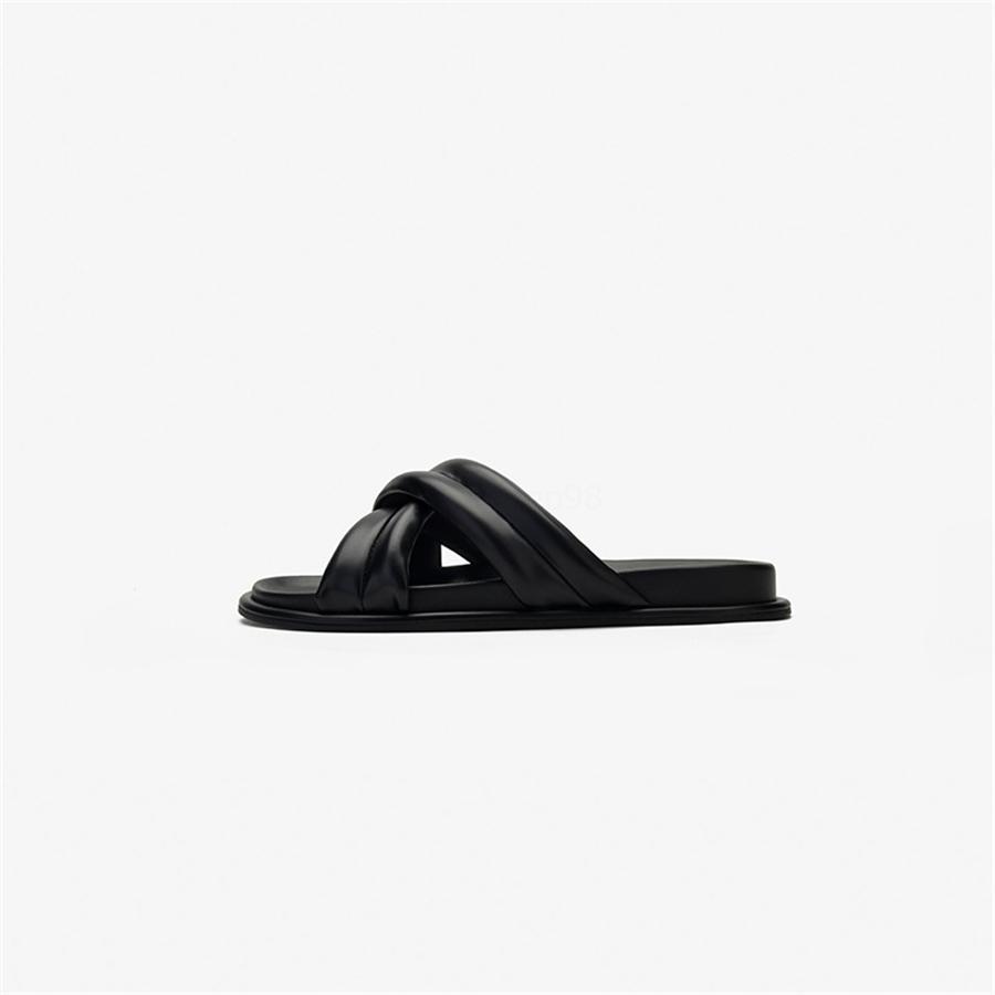 Dropship marca de moda los tacones altos del tamaño grande de 48 acuña los zapatos de las mujeres del verano deslizador de la sandalia Mules Pumps WO # 825