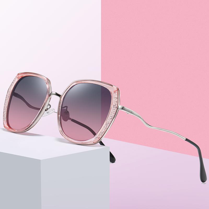 Oversized 2020 Retro Gafas de sol Retro PKPCU Vengas polarizadas Vagas Sol Sun Sun Mujer Gafas Mujer Gafas de sol Plaza Driver Luxury IFERH