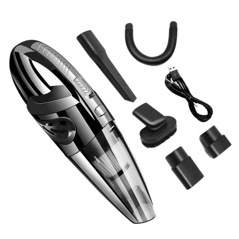 Автомобильный портативный беспроводной пылесос WetDry Портативный Беспроводный Мощный циклон Всасывание для автоматического дома Pet волос