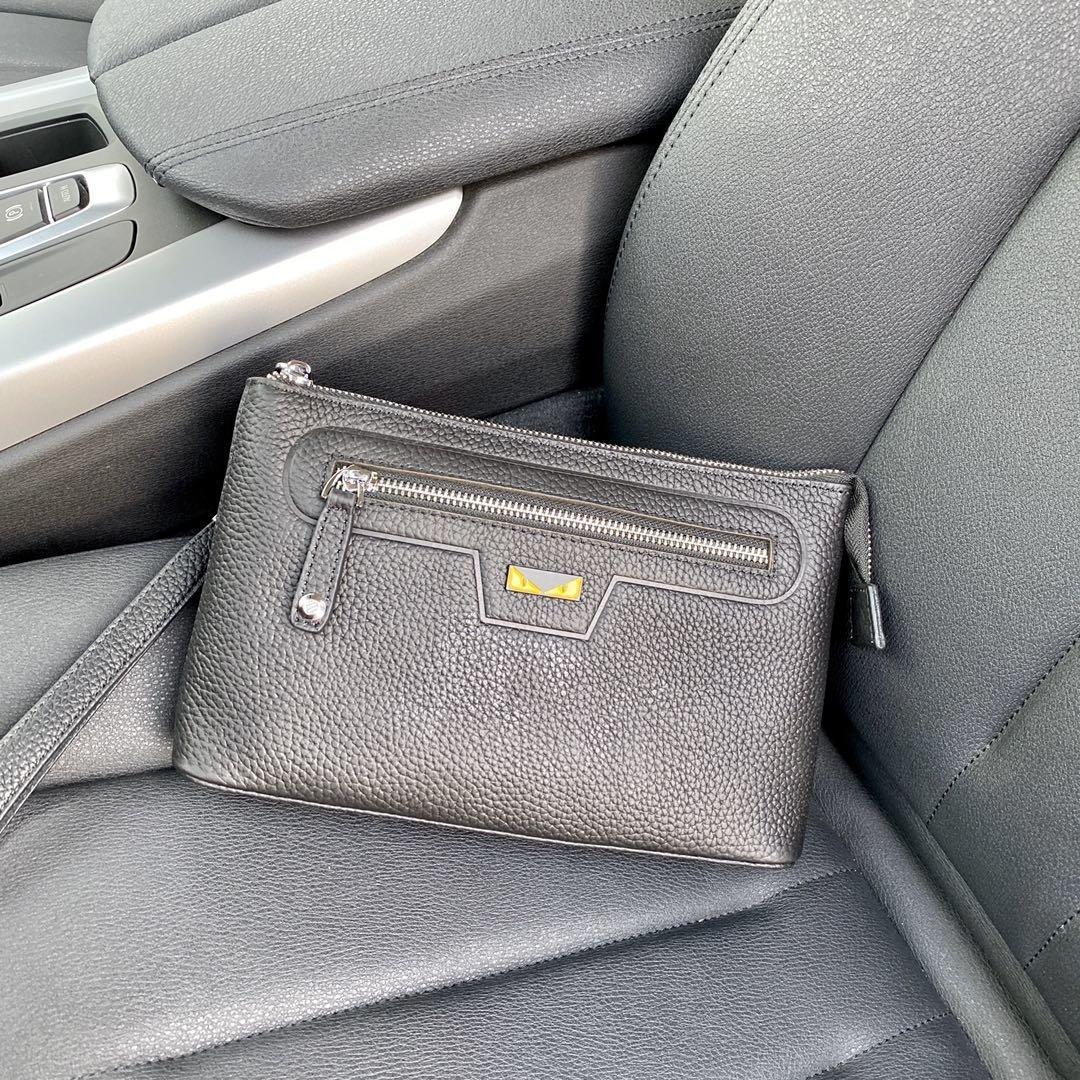 Señora de cuero real bolsas de diseñador buen hardware hebillas de metal de las mujeres bolsos de totalizadores de los bolsos del bolso de la cartera del negocio 40
