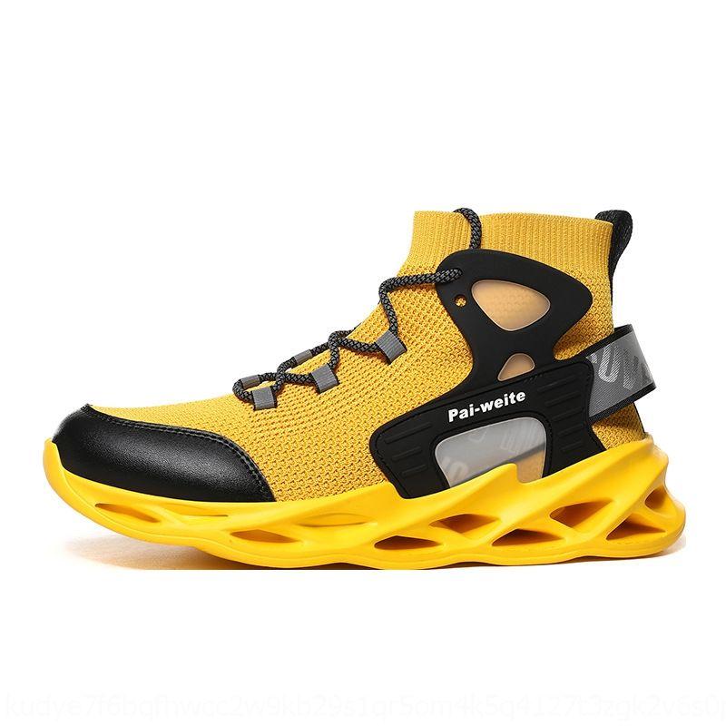 de gran tamaño volar deportes ultra ligero shoeswoven calcetines zapatos nuevos informal luminosa de la moda de los hombres de los hombres de otoño e invierno transpirable de alta superior sp