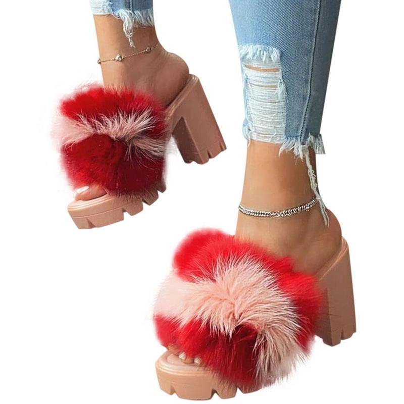 2020 Sommer starke unteres Plattform-Sandelholz für Frauen dick mit Sandalen Keil-Schuhe für Frauen Femme-Absatz-Schuhe Damen