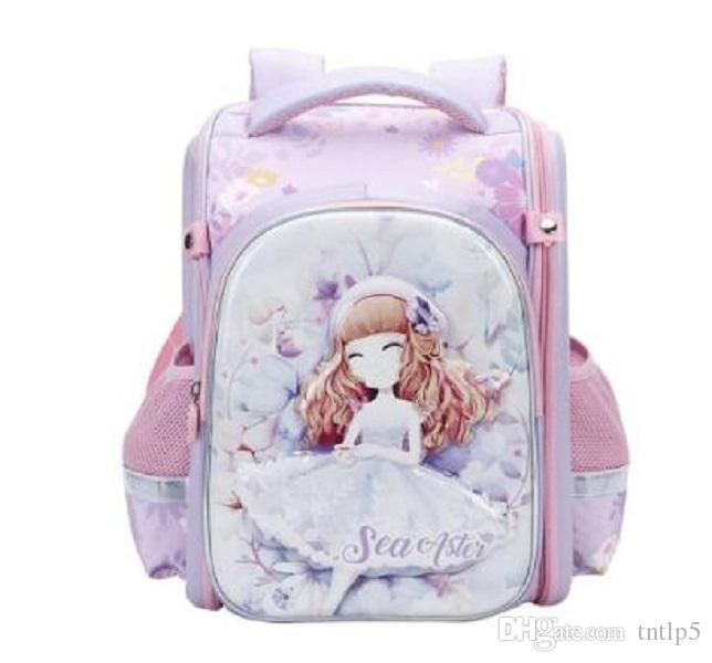 2020 nuevo bolso de escuela de los niños a prueba de agua para las adolescentes mochilas mochilas princesa ortopédicos niños mochilas mochila escolar primaria