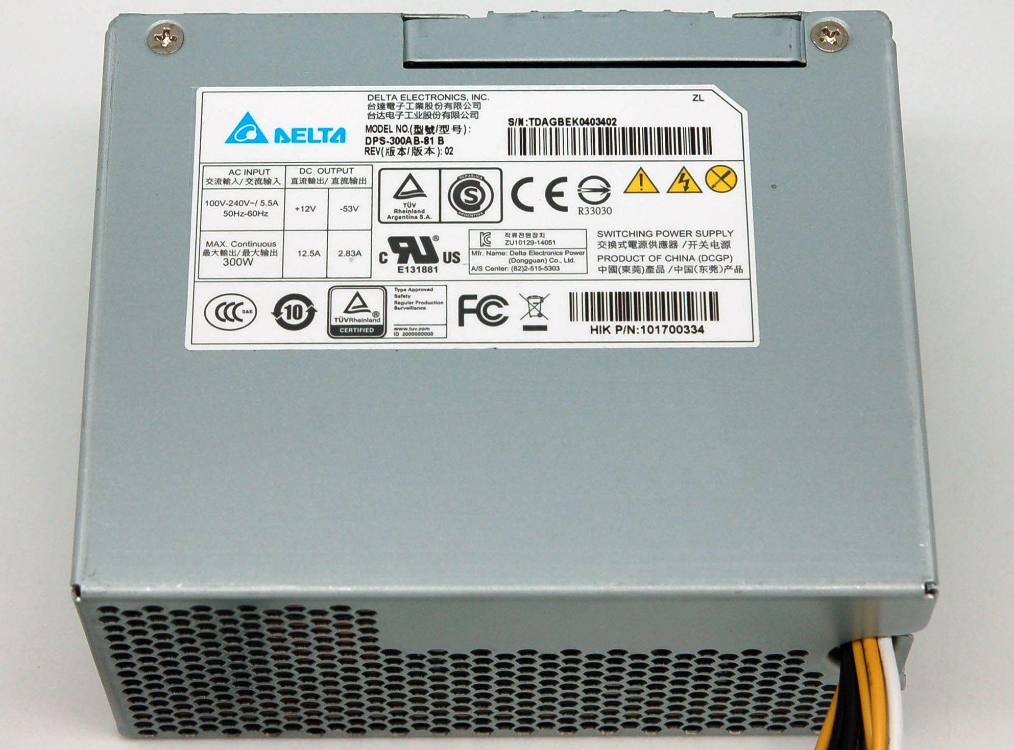 DPS-300AB-81 B 300W إمدادات الطاقة DPS-300AB-81B 12.5 * 6.4 * 10CM تتلاءم مع FSP350-20GSV العمل