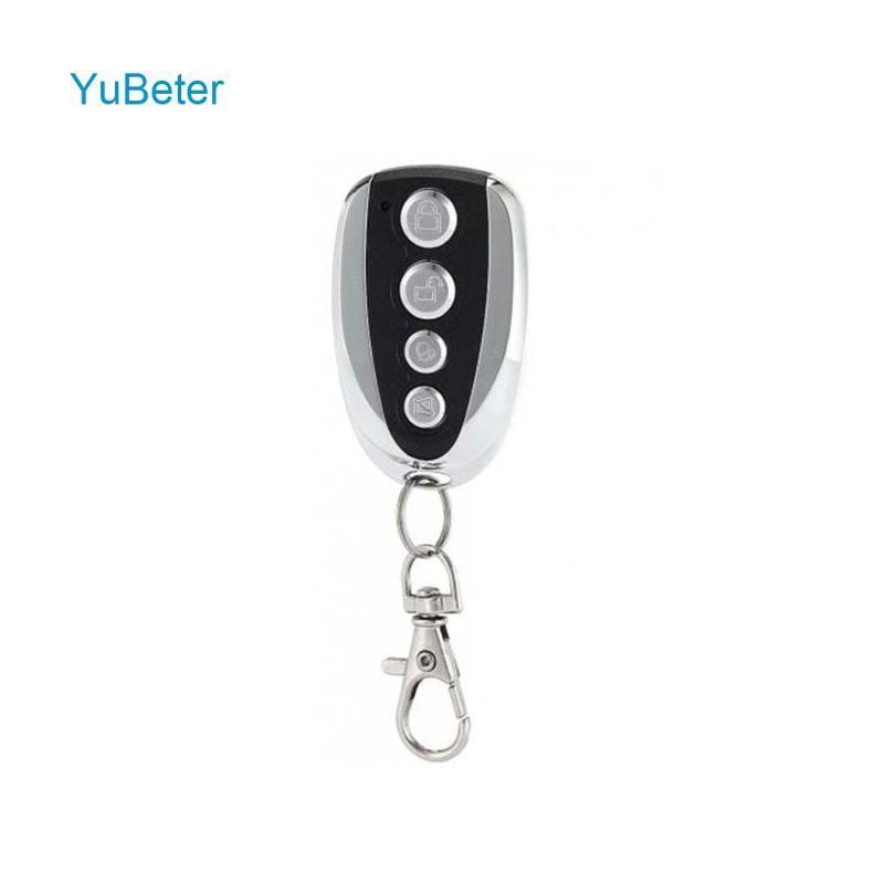 YuBeter 433MHz Uzaktan Kumanda Klonlama Kopya Kontrolör Kablosuz Verici Anahtarı 315MHZ / 330MHz 4 Düğme Araç Hırsızlık Kilit Anahtarı