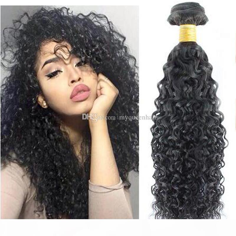 Queen Hair Deep Wave Bundles Braid Weave Hair Extensions Hairstyles For Long Curly Hair For Black Women White Girl Extensions Girls With Hair Extensions From Shihao68 35 9 Dhgate Com