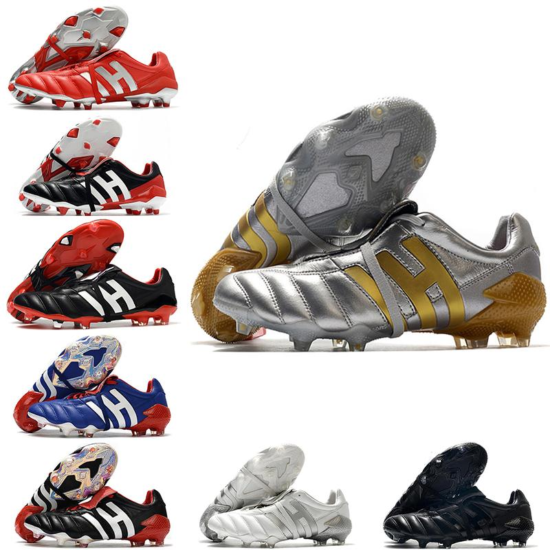 Erkekler Predator 20+ Mutator Mania Tormentor Accelerator Elektrik Hassas 20 + X FG Futbol Ayakkabıları Cleats Futbol Çizmeler Chuteiras