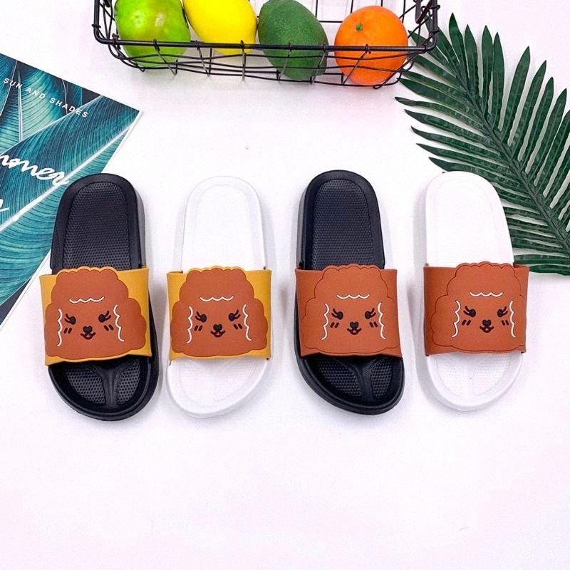 Unisex Pantofole Fashion Trend carino modello Set IndoorOutdoor slittamento non pantofole bagno Toe Infradito Plus Size casa gFIn #