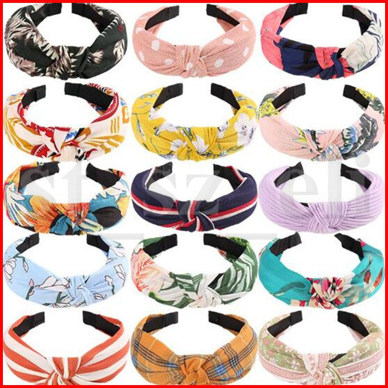 Twist Headband Simple Knotted Hair Hoop Headdress Bow Design hairband Boutique Hair Sticks Charming Hair Accessories