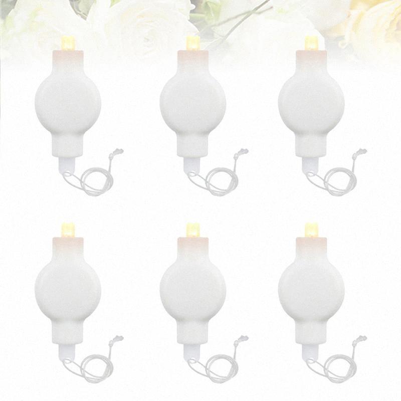 10pcs LED Hängende Laterne Wicks Laterne Ballons LED-Licht Miniatur-Licht für Hochzeitsfest-Festival (warmes weißes Licht) 8rZR #