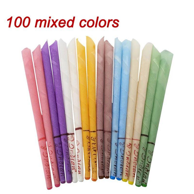 10-200pcs Wax Removal Tool Ohr-Reinigungsmittel-Ohr-Kerze Beeswax gutes Produkt Hopi Ohrenschmalz Indian Coning Fragrance Cleaning456
