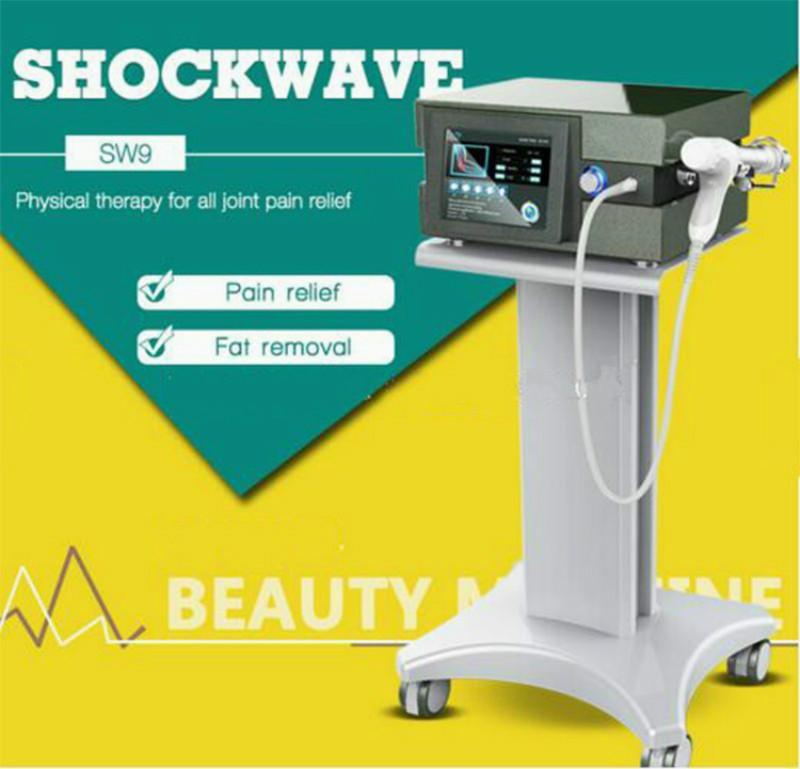 Portátil EswtPneumatic Shockwave Terapia Máquina Para Ed tratamento físico Aceno Therpay máquina para corpo alívio da dor