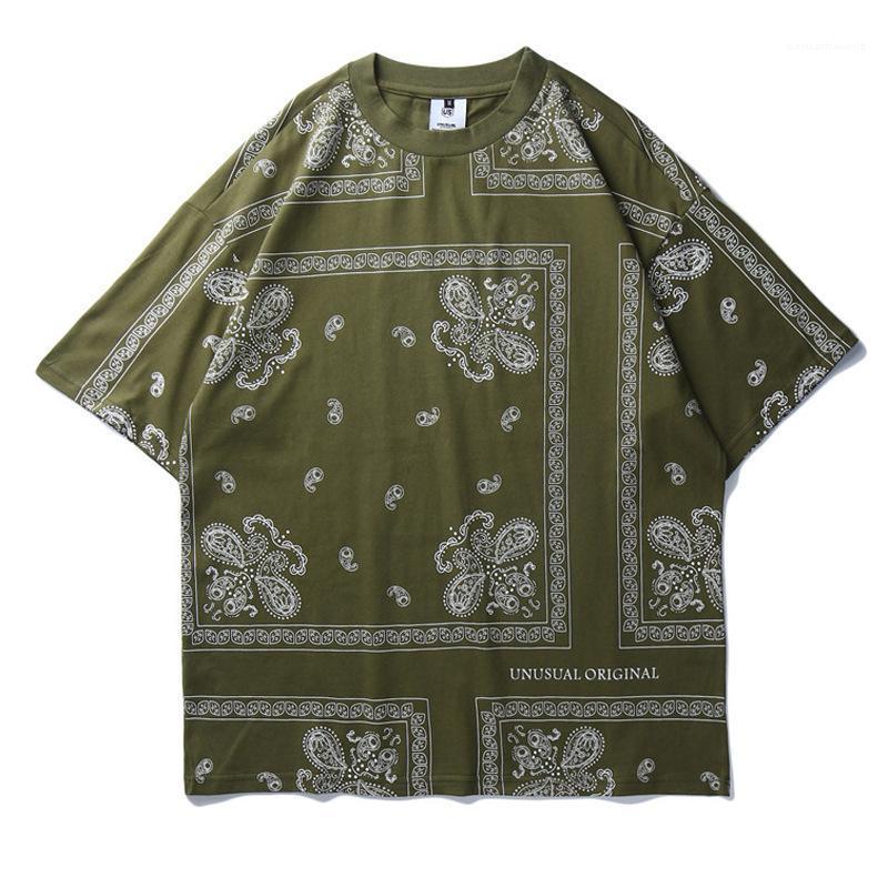 Art-beiläufige lose Kurzärmlig Rundhalsausschnitt T-Shirts Mode-Männer T-Shirts Vintage Printed Herren Designer-T-Shirts Straße