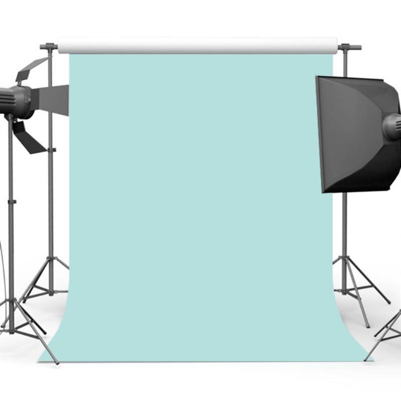 MEHOFOTO Aqua Fotografia sfondo blu solido Foto colore di sfondo per fotografi di studio senza saldatura Computer Stampato MW-187
