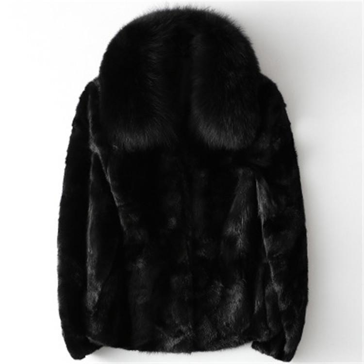 2020 mujeres breve otoño e invierno pelaje abrigo de piel H9