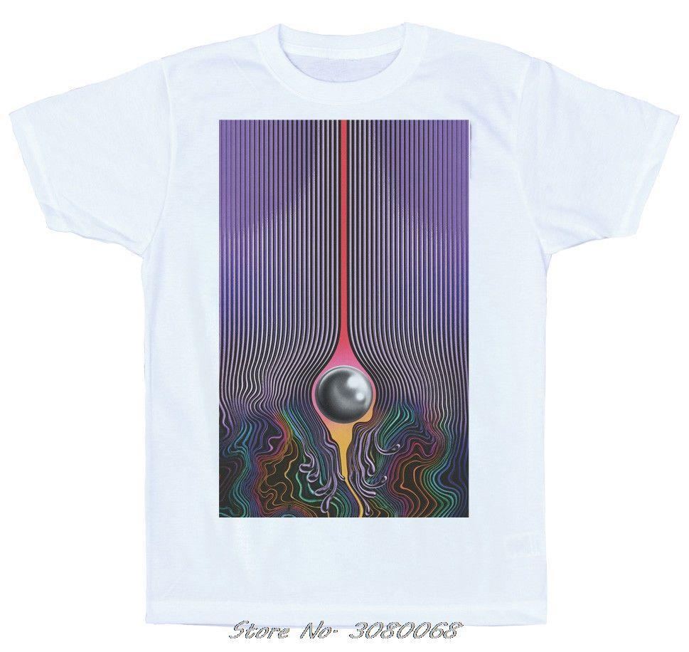 Currents T-Shirt-Design, Tame Impala Unofficial mit kurzen Ärmeln Baumwolle Mode-Hemd Hip Hop Tees Tops