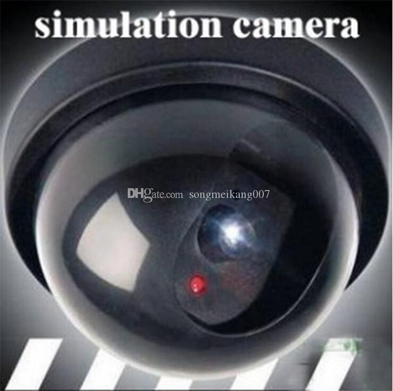 의 Ir 빛 가짜 모니터링 가짜 카메라와 무선 홈 보안 더미 감시 돔 카메라 시뮬레이션 모니터 가짜 반구