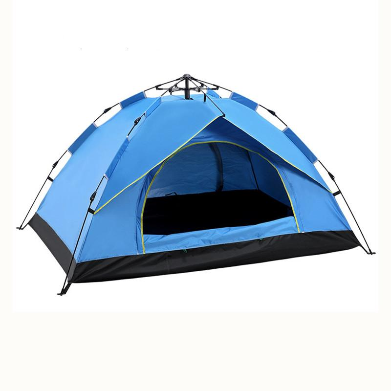 Desert& Automatic Tent 3-4 Person Camping Tent,Easy Instant Setup Protable Backpacking for Sun Shelter,Travelling,Hiking