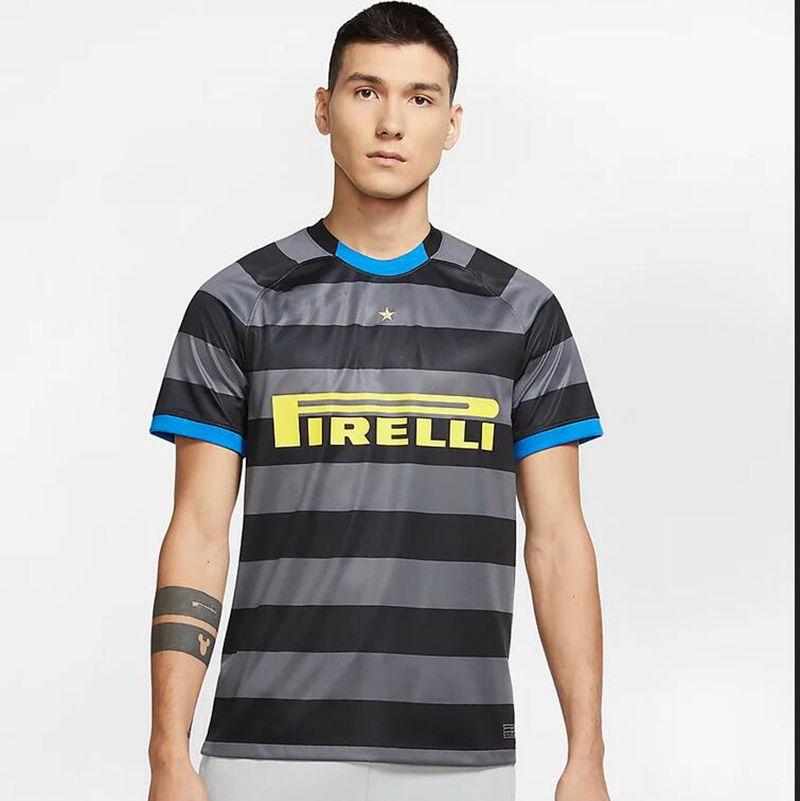 2020 2021 Inter soccer jersey third #9 LUKAKU #10 LAUTARO #24 ERIKSEN Men soccer shirts Short Sleeve Customized Football uniforms