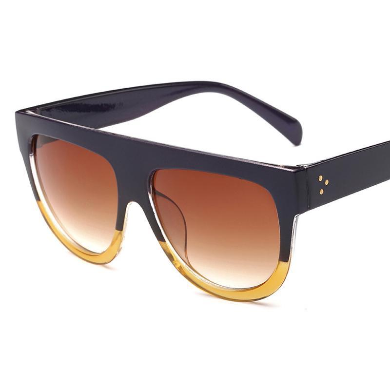 Frauen Rechteck Sonnenbrillen-Leopard-Frauen 2020 Sommer-Damen Sonnenbrille Retro-Platz übergroße Sonnenbrille Uv400 Dropshipping