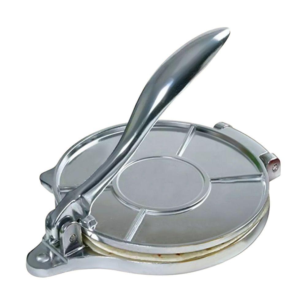 Manual restaurante la cocina casera tortilla Fabricante Easy Clean aleación de aluminio de Prensa
