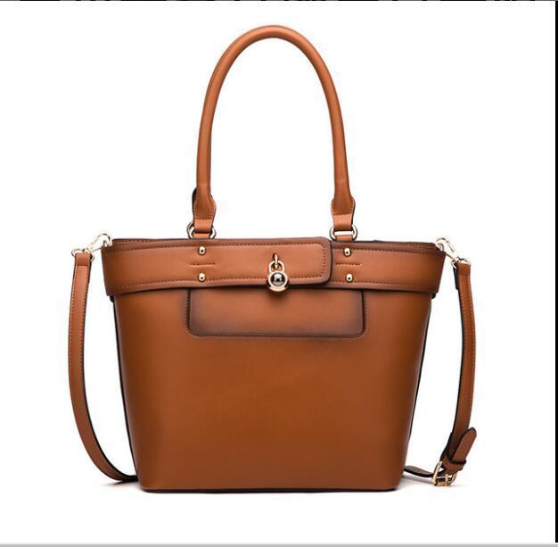 Yeni stil haberci çantası kadın çantası moda Retro Deri Kadın Shouder çanta Avrupa ve Amerikan Kepçe Çanta