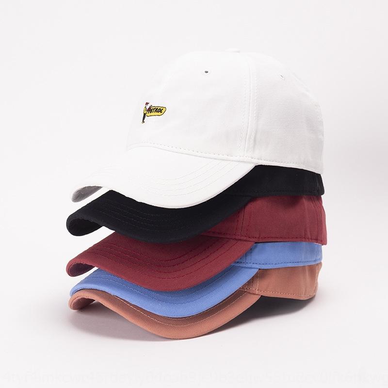 OwJYY 2020 nova bordado de banda desenhada gasolina chapéu feminino bordado casal boné de beisebol chapéu masculino e feminino sol boné de beisebol