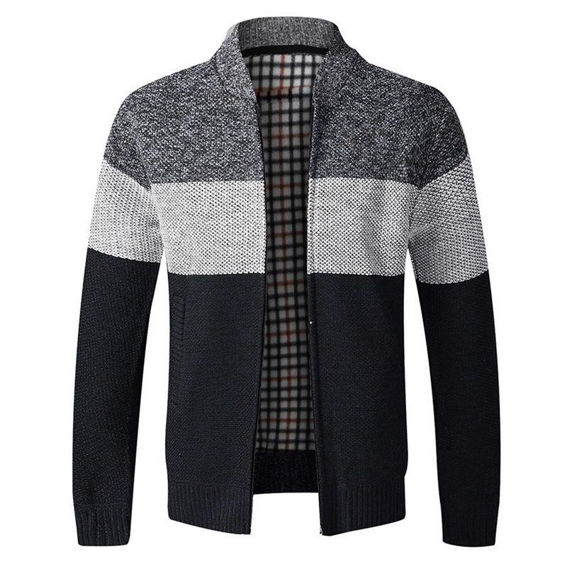 2020 Maglione Autunno Uomo Casual maniche lunghe ispessimento Plus Size caldo velluto Trend camicia Maglione del cappotto del rivestimento