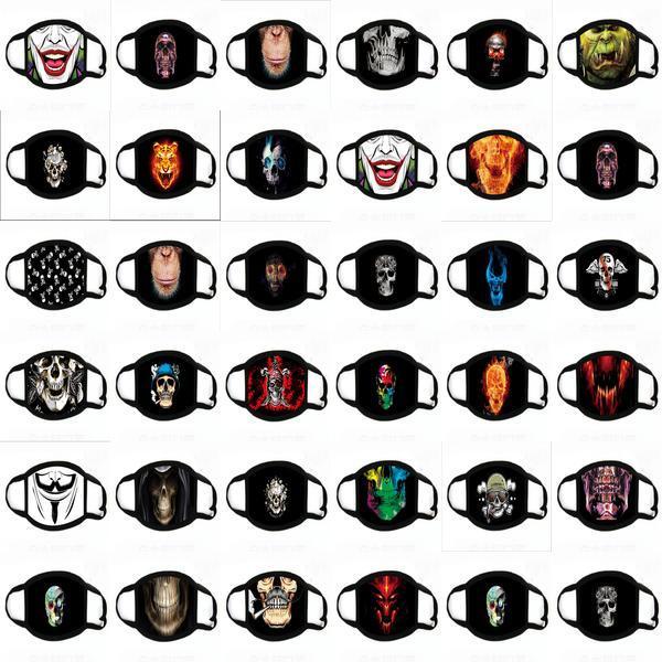 Designer Designer máscara máscaras Cubrebocas Funny Face Impresso Tapabocas Escudo Homens Masque cara Máscara Facial daxTr buy_home