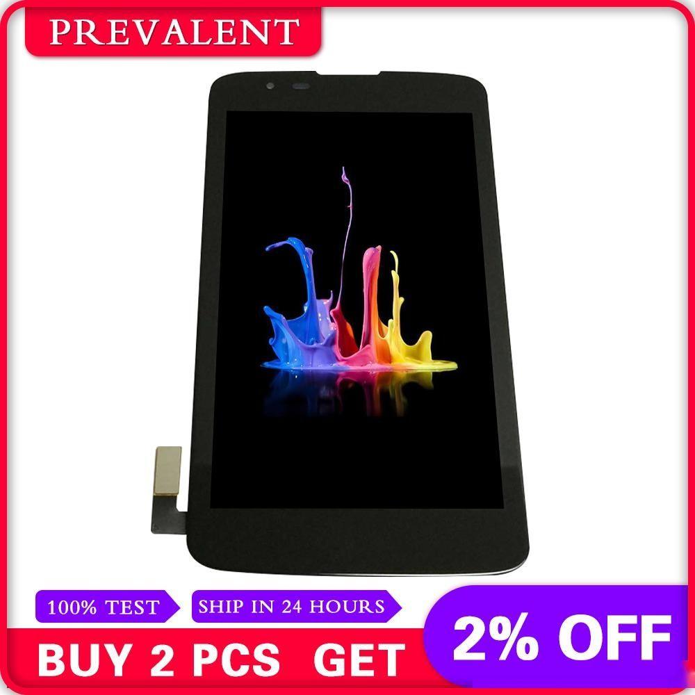 For LG K7 Tribute 5 LS675 MS330 K330 Full LCD Display Panel Module + black Touch Screen Digitizer Sensor Assembly