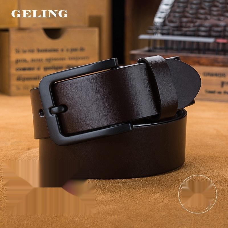 on7pC Nouveau produit pour la personnalité d'affaires des hommes Nouvelle ceinture beltfashion hommes de produits de style coréen première couche de peau de vache ceinture à la main