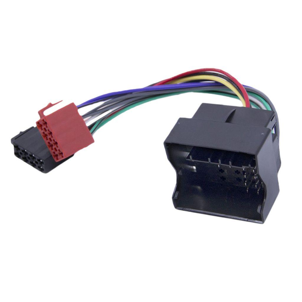 Stereo Radio ISO Car Adapter Tomada Car Fio Conector para Peugeot