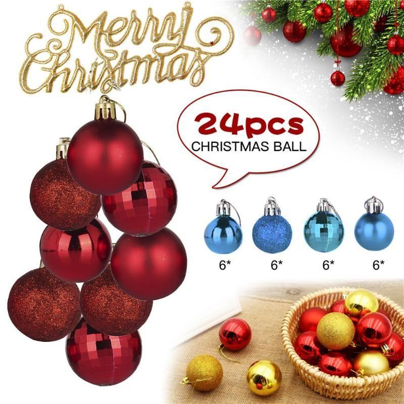 Weihnachtsbaum hängende Kugel Schöne gemalte-Ball-Party Supplies Für Familientreffen Weihnachtsfest-Dekoration