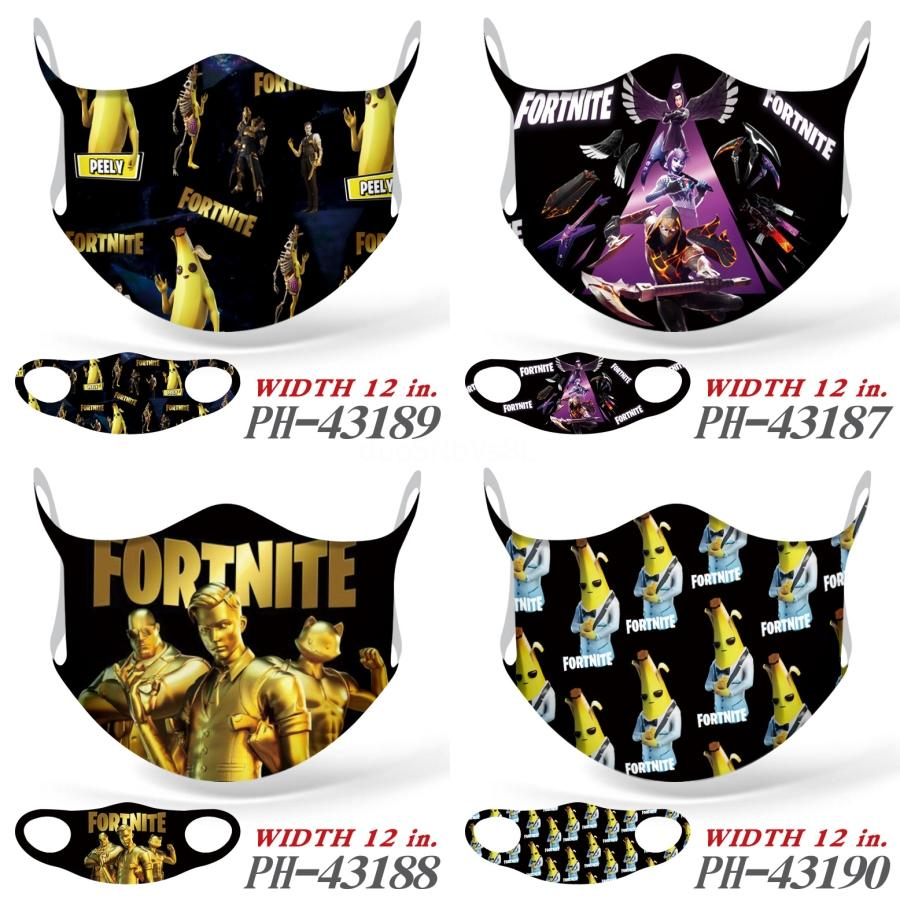 Bppaw Trump Ice шелкового Печатные Маски Черный Cyliong Nti-Dust Black Men Unisex Дизайнерские Маски для лица Мода Женщина моющийся лица Fortnite маска # 164