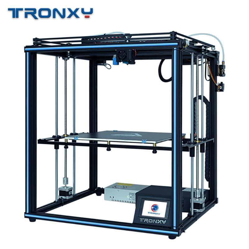 Tronxy DIY X5SA 3D Yazıcı 24V Güç Kaynağı Tam metal 3d yazıcı hotend CoreXY Isı tablosu 330 * 330mm Otomatik seviye Impresora