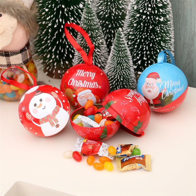 Merry Christmas Gift Bags Xmas Tree ornaments Candy Bag Snowflake Christmas Decorations for Home Candy Box New Year 2021 natale