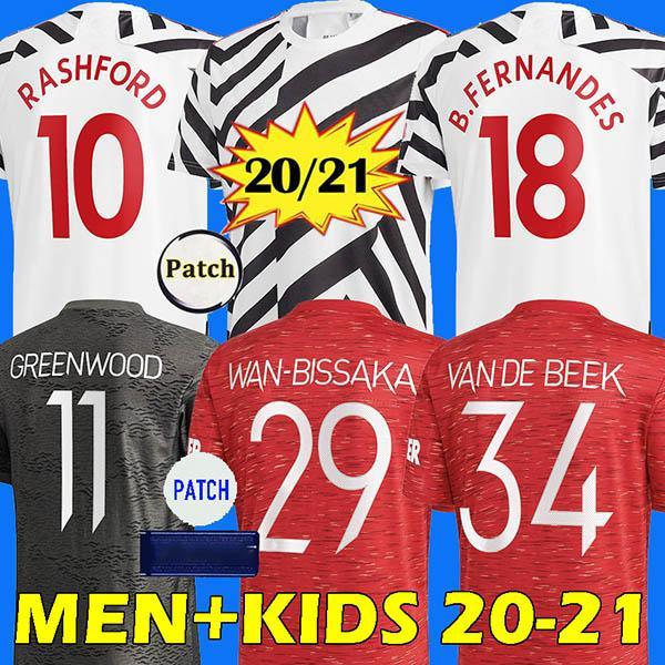 20 21 manchester United futbol forması man utd soccer jersey RASHFORD GREENWOOD MARTIAL WAN-BISSAKA JAMES POGBA LINGARD BRUNO FERNANDES MAGUIRE football shirt