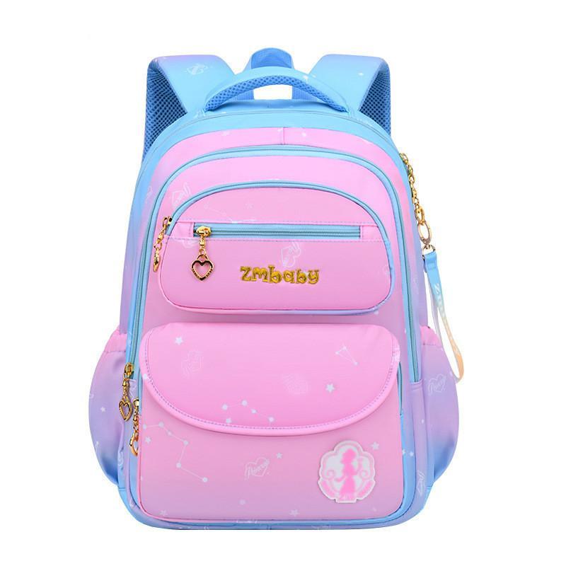 непромокаемые детские школьные сумки для девочек основной принцессы школы Рюкзаки дети ранцев ортопедического рюкзак Mochila Infantil LJ200917