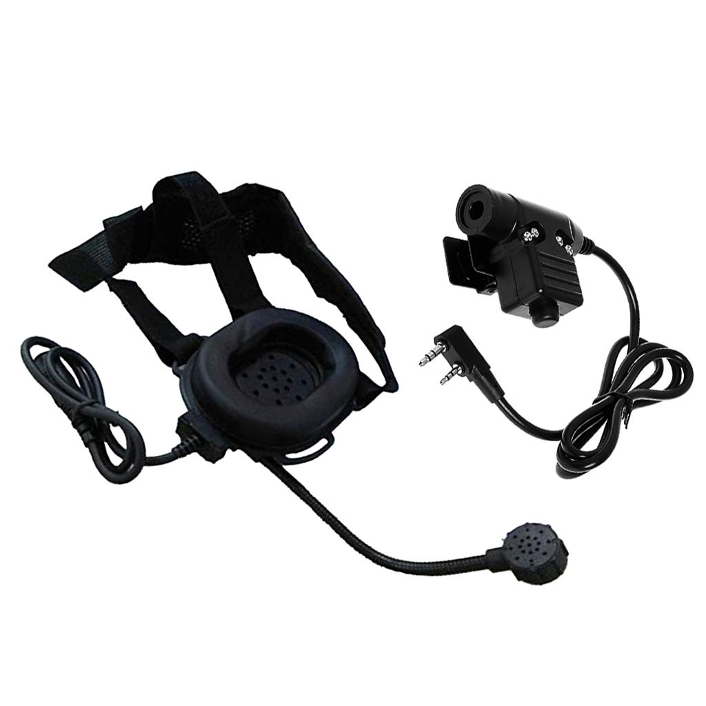 Radio 2Pin Z Tactical Heavy Duty Bowman Elite II HD03-Headset mit PTT U94
