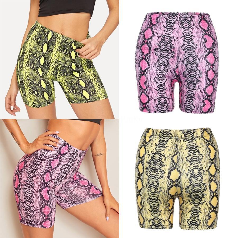 Pantalones de verano sin fisuras de alta Deportes Mujeres de la aptitud Pantalones Deportes del ejercicio del vientre apretado abdomen cadera Yoga Pantalones cortos Mujer # 610