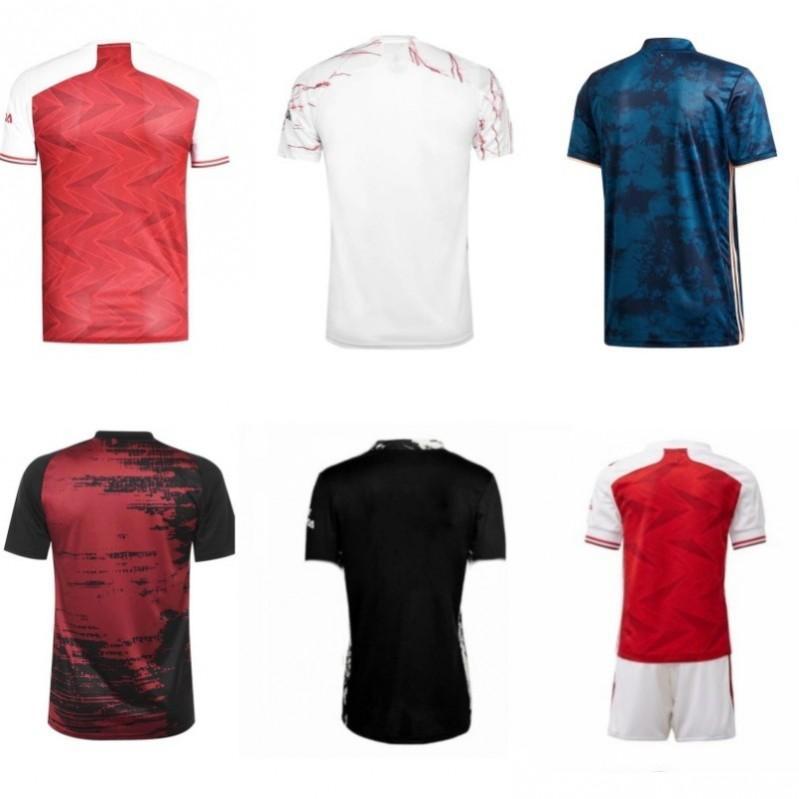 (20 개) (21) 아르센 축구 유니폼 camisetas 드 푸 웃 집에 떨어져 세 번째 축구 셔츠 사수 팬들은 짧은 소매 타이츠 드 발을 꼭대기