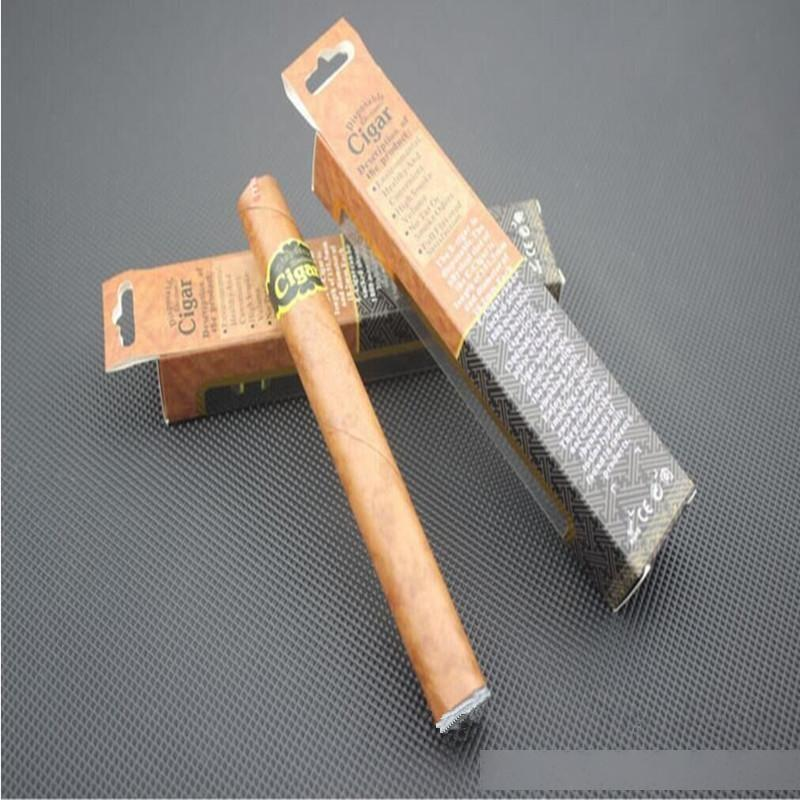 Disposable Cigar 1800 Puffs Electronic Cigarette E Cigars E Cig Vapor Powerful Cigarettes Better Than Shisha E Hookah Disposabal 20pc/lot