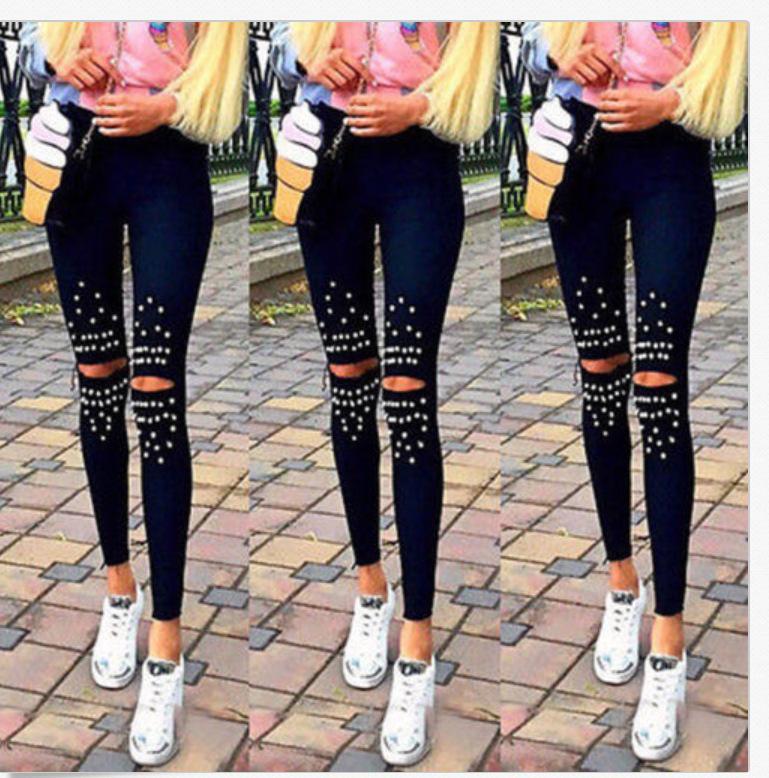 Европа и Америка Горячий продавать Эластичность карандаш брюки тощие брюки поножи повседневные брюки